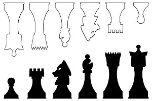 Vector Chess Pieces