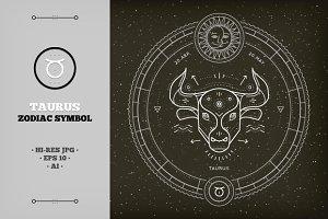 ♉ Taurus Zodiac Symbol