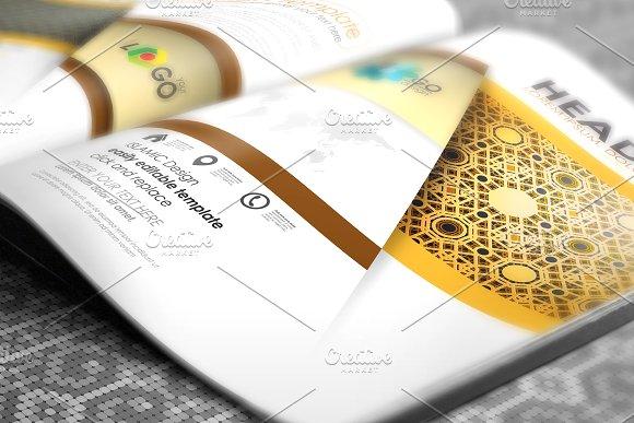 Flat design templates v.2 - Brochures