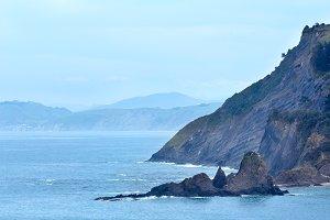 Atlantic Ocean coastline, Spain