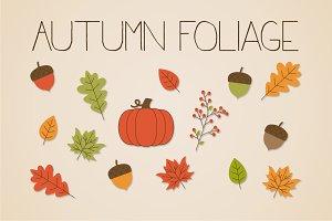 Autumn Foliage Clip Art