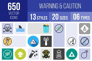 650 Warning & Caution Icons