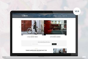 Cherro - A Theme for Bloggers