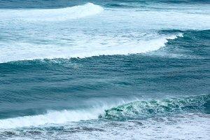Ocean wave background.