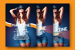 Magazine Cover Template 9