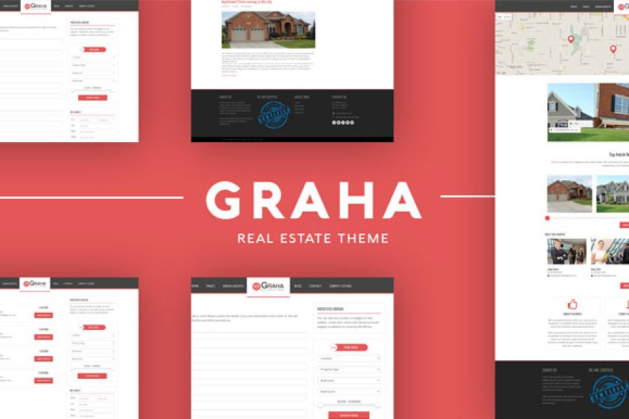 Graha Real Estate Wordpress Theme