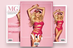 Magazine Cover Template 6