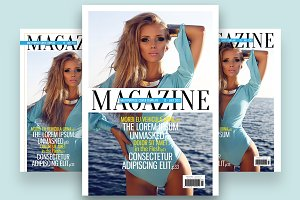 Magazine Cover Template 5
