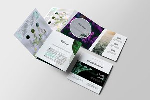 Guido Square Trifold Brochure