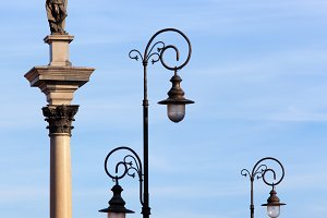 King Sigismund III and Street Lamps
