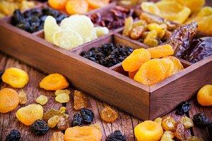 Аssorted dried fruits