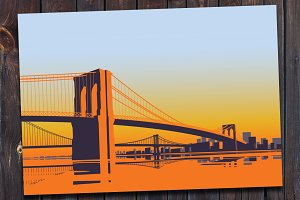 Brooklyn Bridge Travel Card