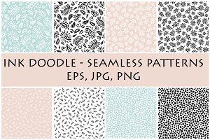 Ink doodle - patterns