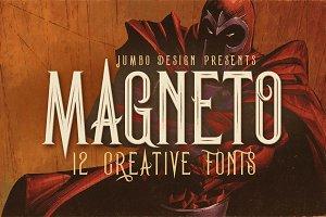 Magneto - Vintage Style Font