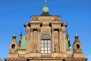Carmelite Church Details in Warsaw