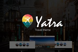 Yatra-Travel Booking Wordpress Theme