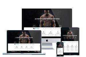 LT Fitness Onepage Joomla Template