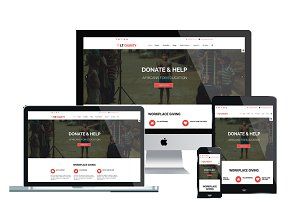 LT Charity One Page Joomla Template