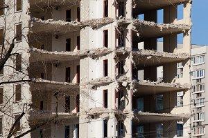 Apartment House Demolition