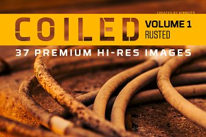 Coiled v1 Rusted