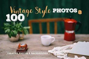 100 Vintage Style Photos v.8