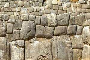 Inca wall of fitting mega stones