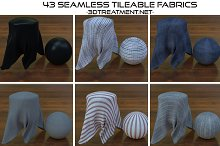 43 Seamless Tileable Fabric Shaders  by  in Fabric