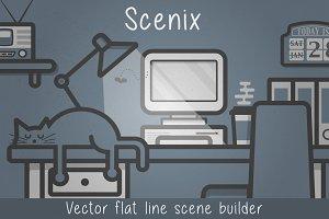 Scenix - Vector Line Scene Builder