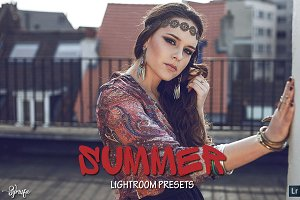 50 Summer Lightroom Presets