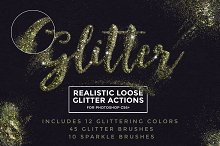 Loose Glitter Photoshop Actions