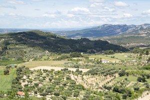 Landscape from Horta de Sant Joan