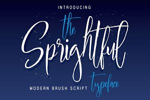 Sprightful Typeface