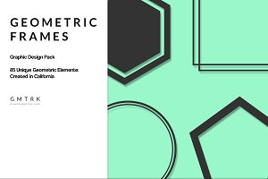 Geometric Frames Design Kit