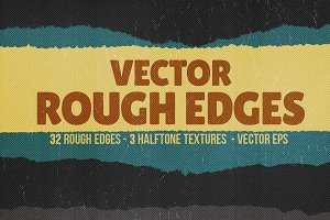 Vector Rough Edges