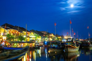 Hoi An at night, Vietnam