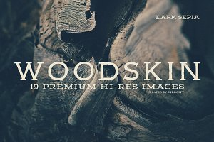 Woodskin v1 Dark Sepia