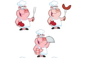 Chef Pigs Collection