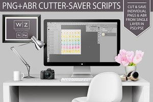 PNG+ABR Cutter Saver Scripts