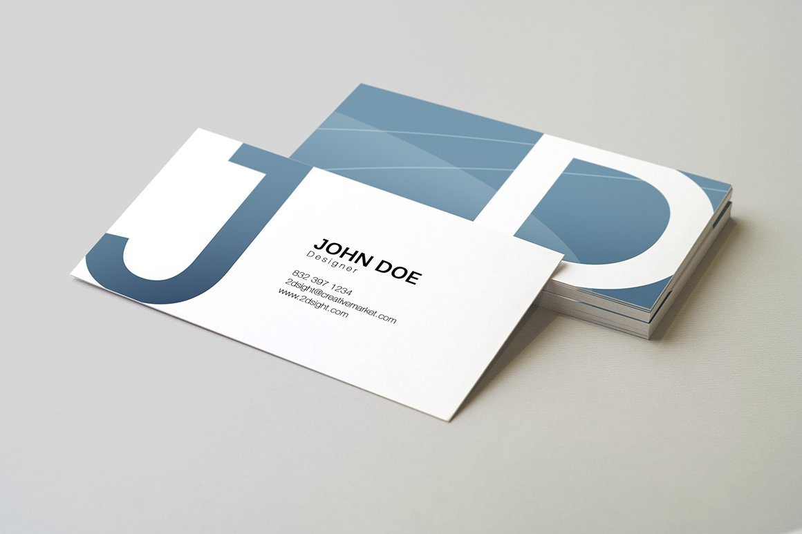 90x50 Business Card Mockup ~ Product Mockups ~ Creative Market