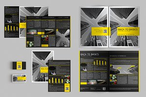 Set of Brochures / Stationery 04