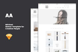 AA - Minimal Sketch Template