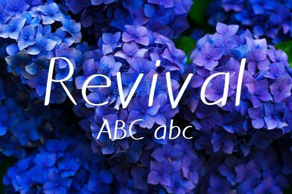 Revival Typeface