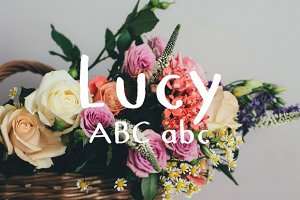 Lucy Typeface