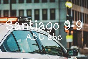 Santiago 9 - 9 typeface