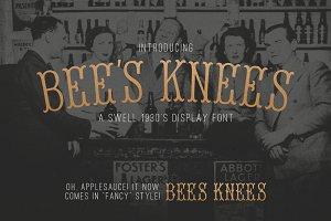 Bee's Knees Font