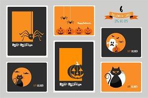 Halloween cards- SET 2