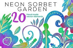 Neon Sorbet Garden