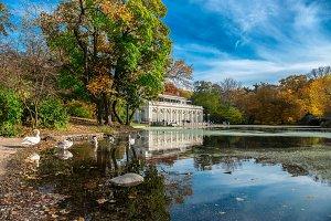 autumn landscape in Prospect Park