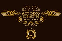 42 Art Deco Elements Vol 10