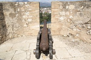 Cannon in Tortosa